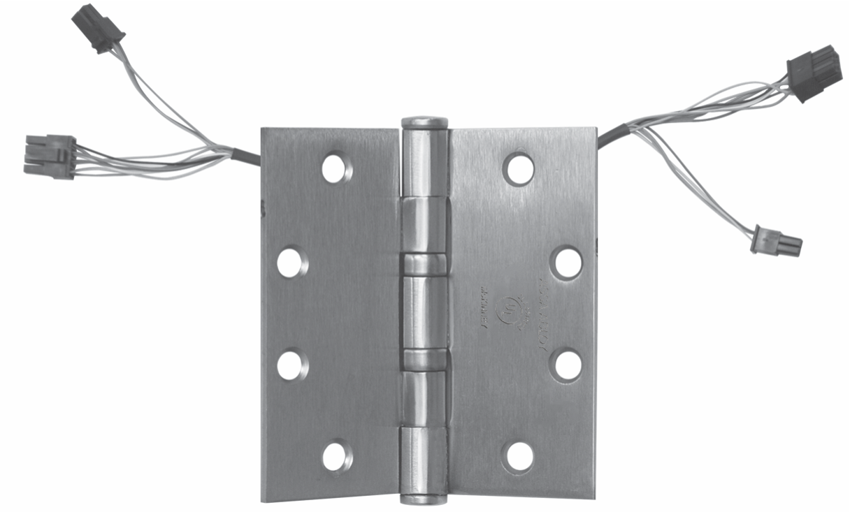 McKinney ElectroLynx® Hinge (QC Option) - A ABLOY on wire cap, wire antenna, wire holder, wire clothing, wire connector, wire lamp, wire nut, wire leads, wire sleeve, wire ball,