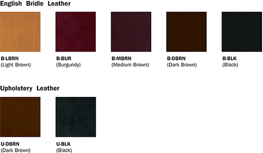 leather color selections