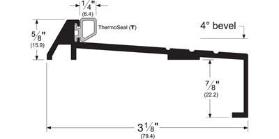 Bumper Thresho-Sills - Outswing Doors