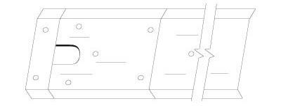 Floor Closer Thresholds/Cover Plate Assemblies