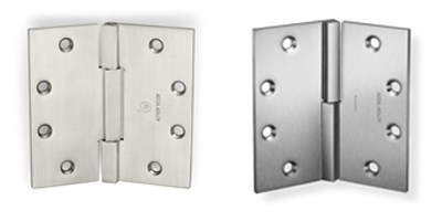 McKinney Square Barrel Decorative Hinges