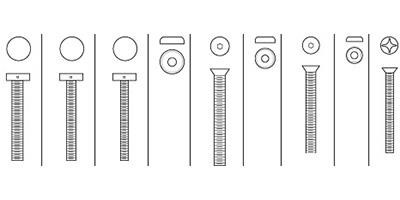 Rockwood Fasteners, Spare Parts, Mounting Kits