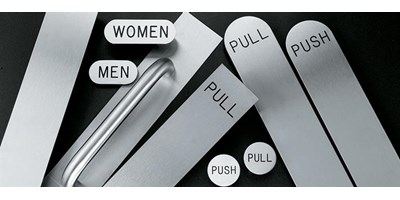 Push and Pull Plates & Signage