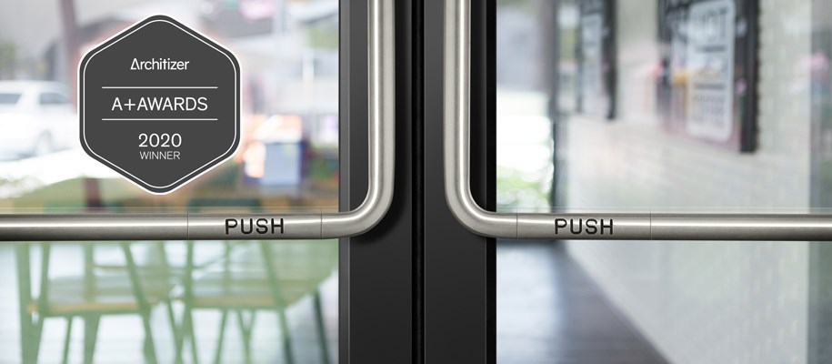 Storefront Door - Stainless Steel Finish