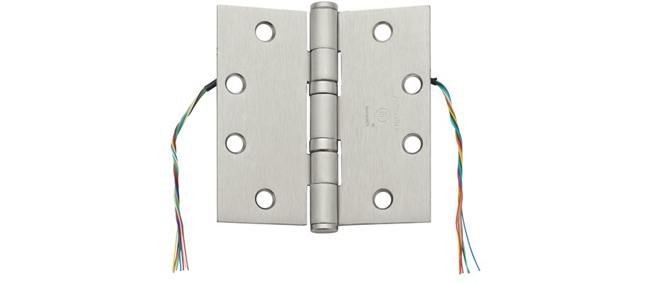 McKinney Concealed Circuit Electric Hinge (CC Option) - ASSA