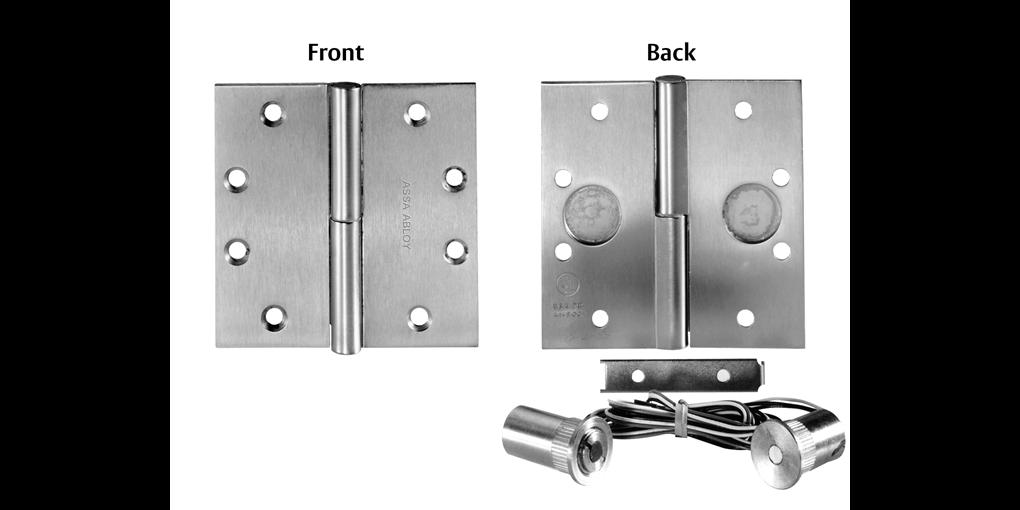 McKinney Magnetic Monitoring Hinge (MM Option) - ASSA ABLOY